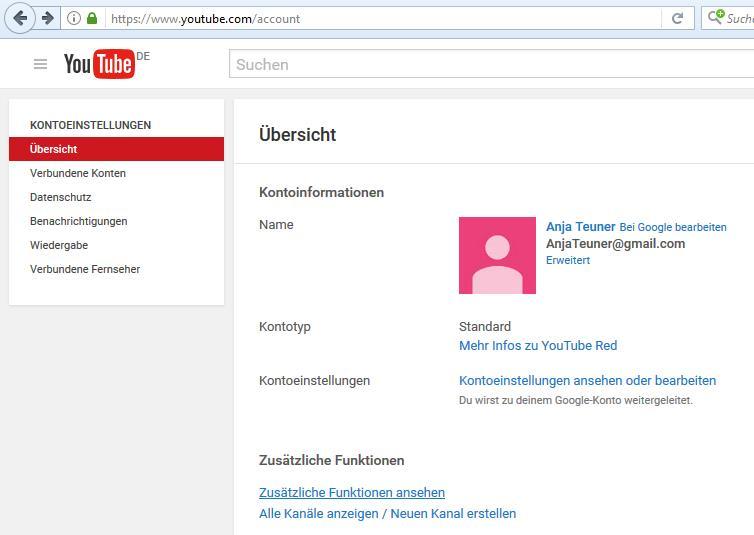 youtube brand konto erstellen