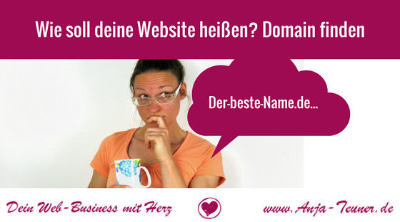 name website gute domain finden