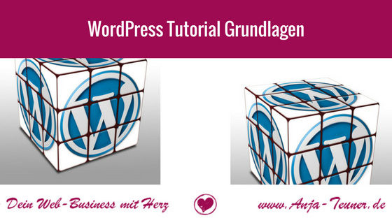 wordpress tutorial grundlagen einsteiger