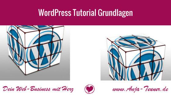 wordpress tutorial grundlagen einsteiger