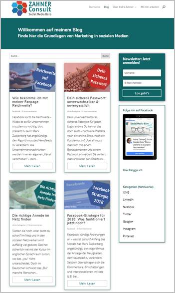 webdesign anja-teuner.de