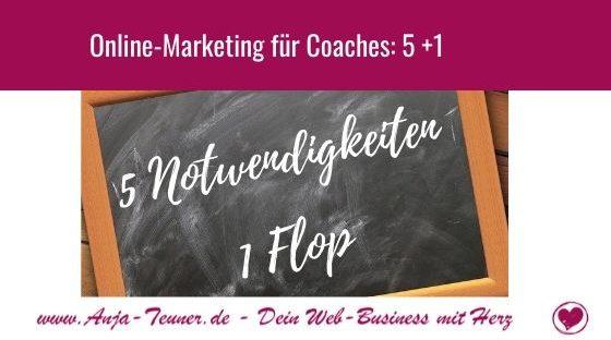 Online Marketing für Coaches